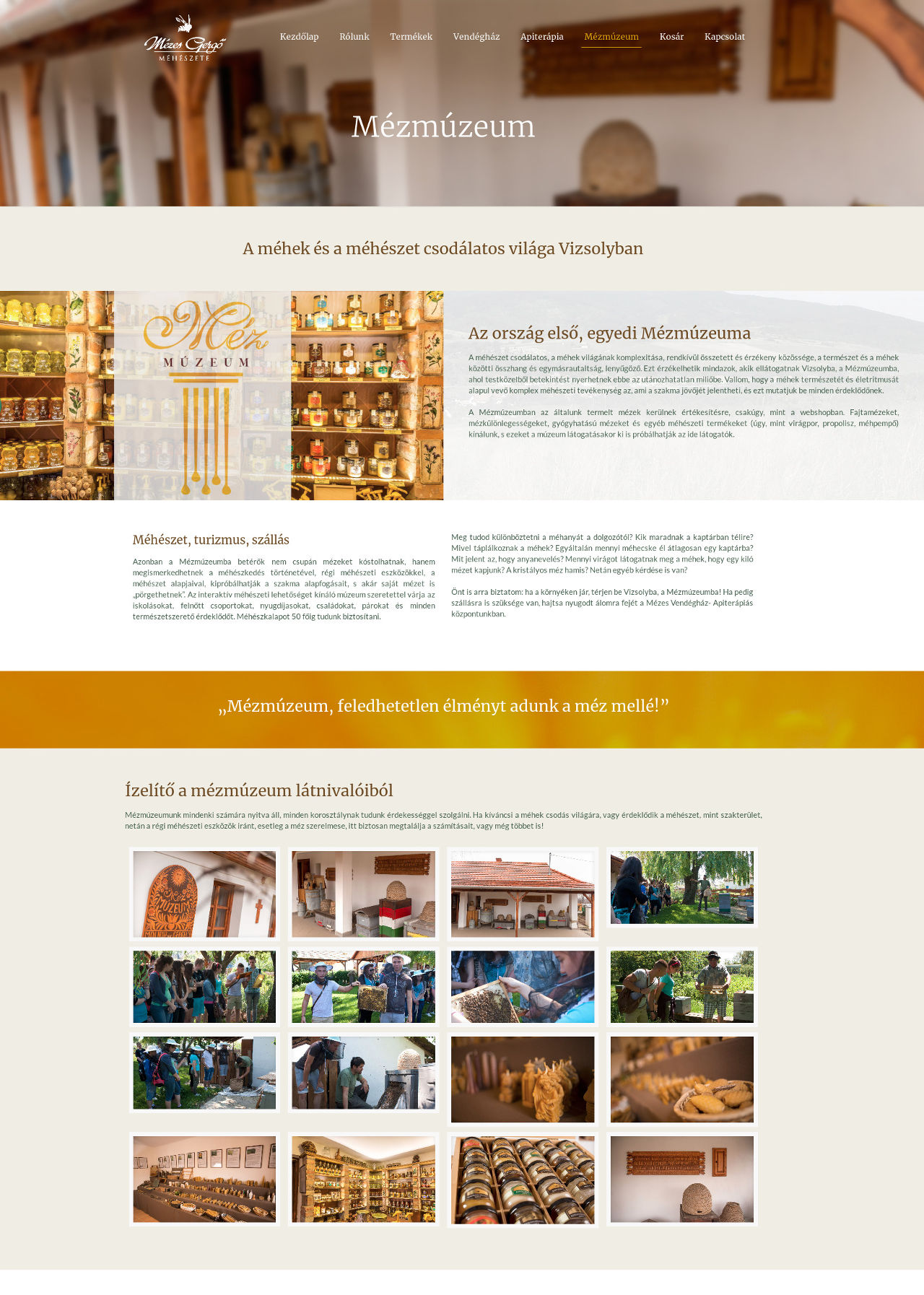 mézesgergő webdesign